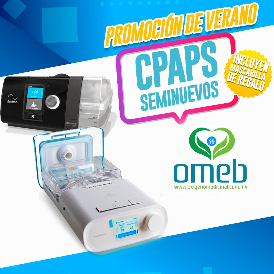 Promocíón CPAP Seminuevo + Mascarilla Gratis